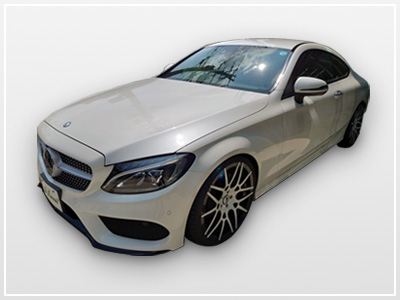 BENZ C-class COUPE